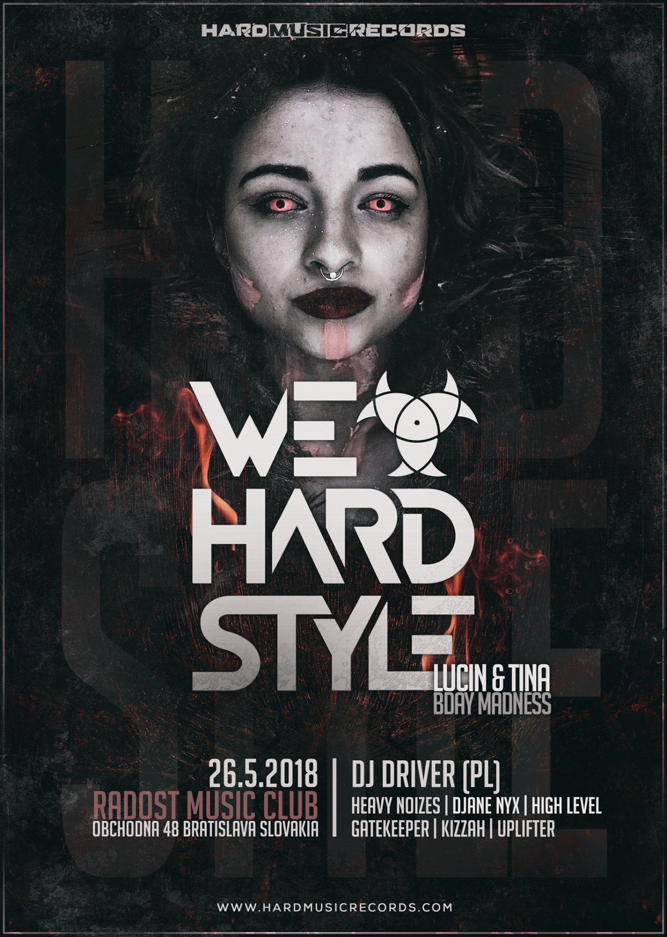 We Love Hardstyle - Lucin & Tina BDay Madness