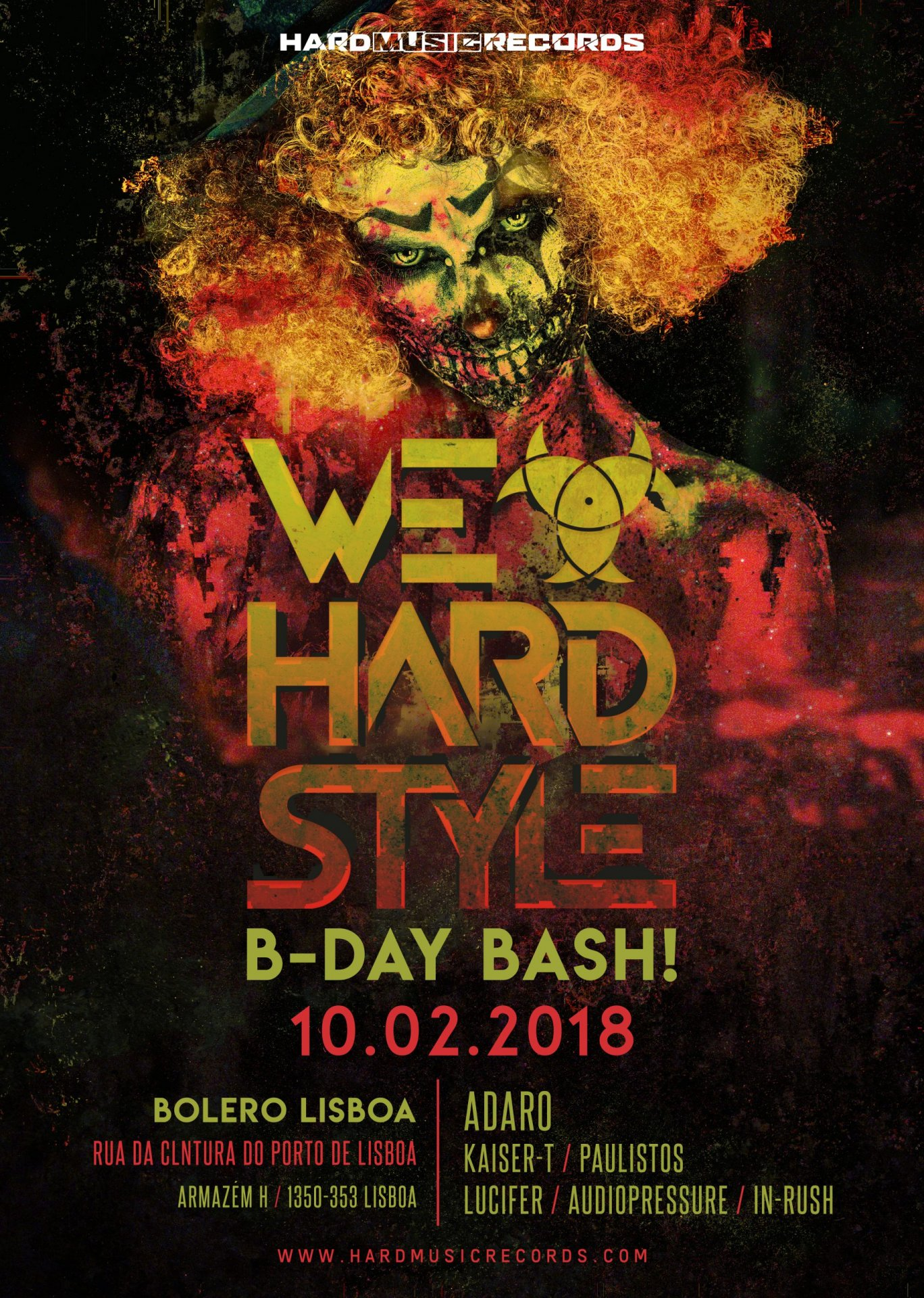 We Love Hardstyle | Portugal (B-Day Bash!)