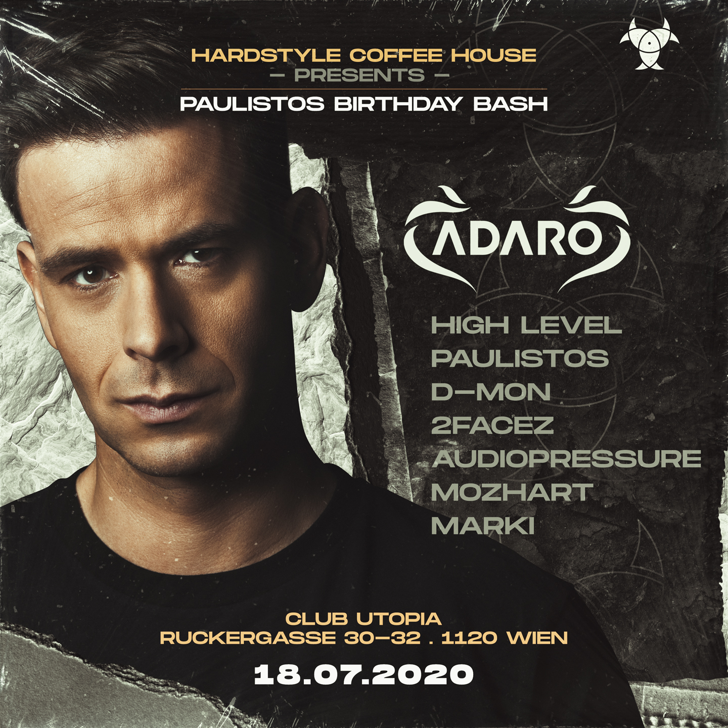 Adaro | Hardstyle Coffee House presents Paulistos B-Day Bash